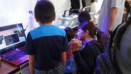HONUMI移動水族館を宇和島漁港隣で開催。