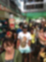 HONUMI出張でセブ島の市民市場へ。観光客は誰もいなく、珍しいようでした。