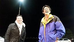 HONUMI出張で韓国へ。インサイトホーム代表の岡田さんと夜の撮影