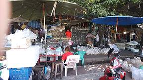 タイ、バンコクの観賞魚卸売り市場。HONUMI出張