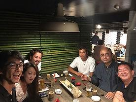 HONUMI代理店様と長福寺和尚さんでホンマもんの居酒屋で開店祝い