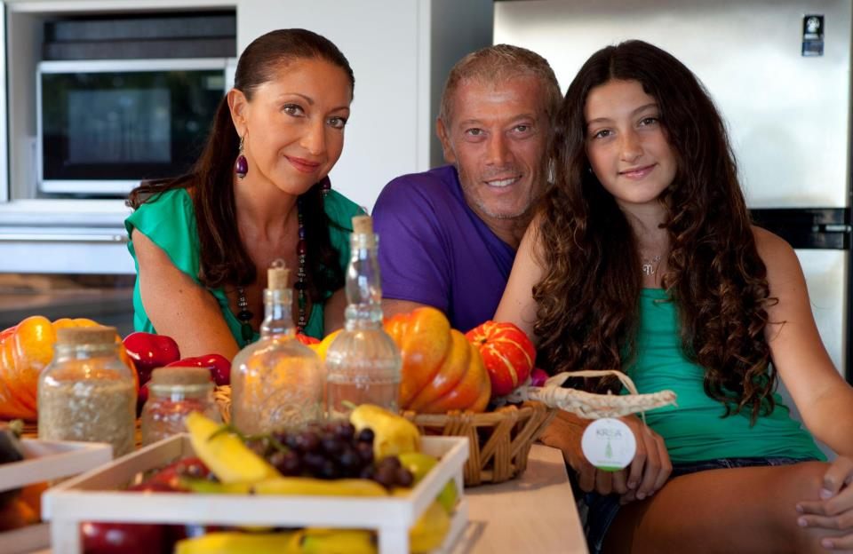 Con mi familia
