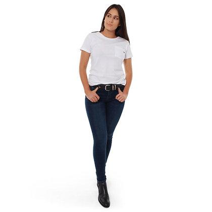 Sophie Mid Rise Skinny Leg Jeans - Classic Blue