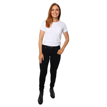 Sophie Mid Rise Skinny Leg Jeans