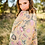 Thumbnail: Daisy Padded Quilt Amber Gold