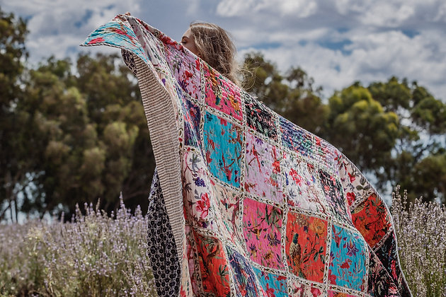 Wild Beauty Quilt Throw