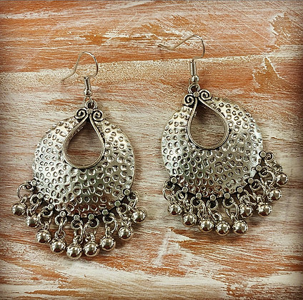 Silver Earrings 3