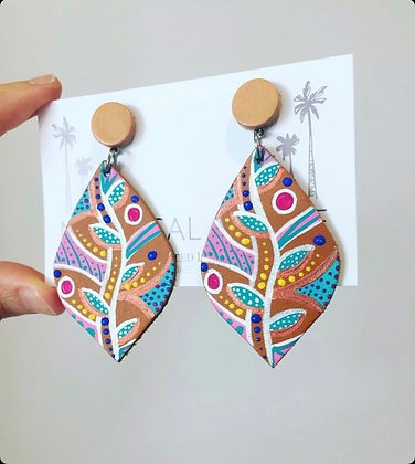 Kimberley Dreaming Leather Earrings - 2