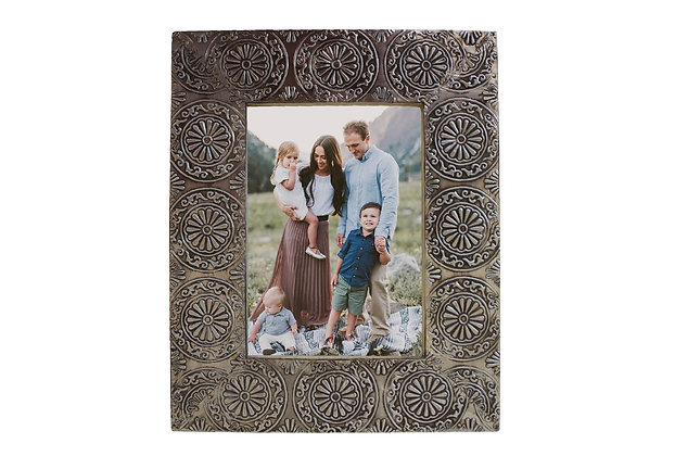 "Rectangle Silver 5X7"" Picture Frame"