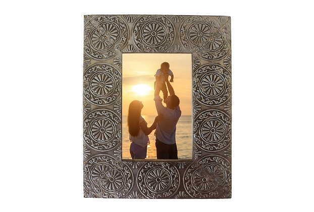 "Rectangle Silver 4x6"" Picture Frame"