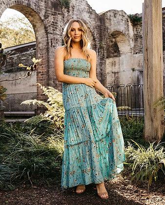 Blue Horizon Maxi Dress