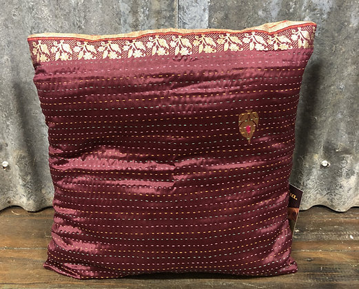 Kantha cushion cover - Medium