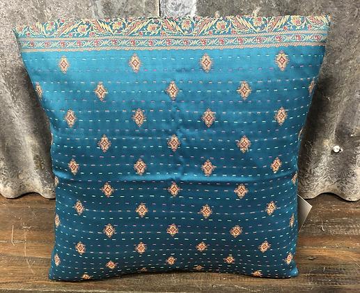 Kantha cushion cover - small