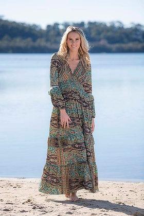 Katrina Dress - Turquoise