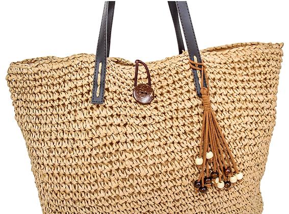 Woven Shopper Bag