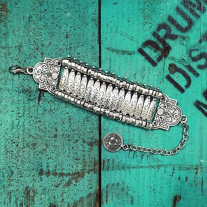Boho Turkish Silver Style Bracelet