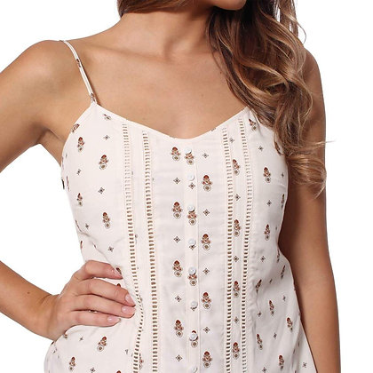 Holly Womens Cami Top - Outback Floral Print