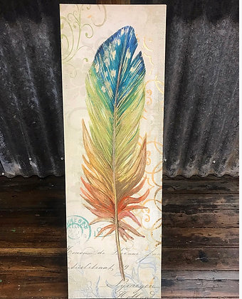 Boho Leaf Wall Hanging