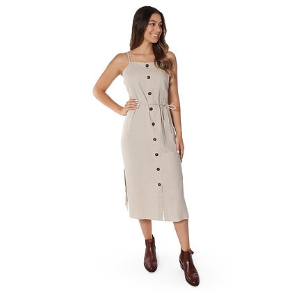 Camile Womens Linen Dress