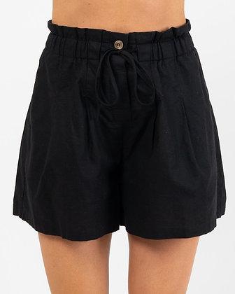 Cotton/Linen Blend Shorts