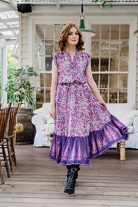 Gyspy Bloom Skirt - Orchard Violet