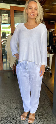 Lounge Pants - White