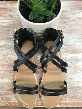 Skylah Leather Sandals