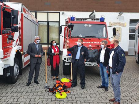 Roger Lewentz in Haßloch und Lambrecht am 21.10.2020