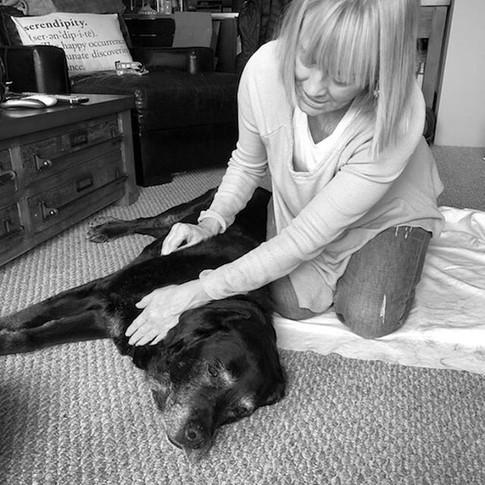 15 yr old Mackenzie enjoying her massage..jpg