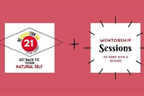 21Day Online Retreat + 90 min Mentoring