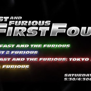 The Fast and Furious First Four