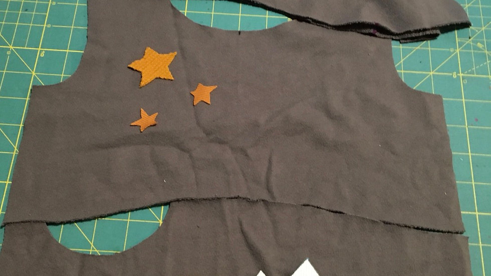 Organic dark gray Mountain moonrise hoodie - 3-6 years