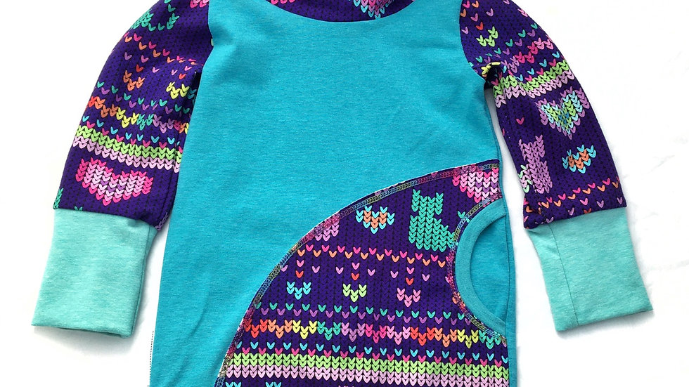 Sweater Cats - Grow-With-Me Tunic