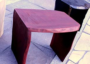 天然木を活かした漆器家具