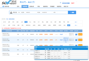 Sofreight ocean freight price check