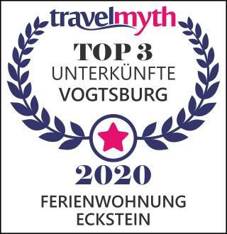 Wir sind unter den Top 3 der Unterkünfte in Vogtsburg
