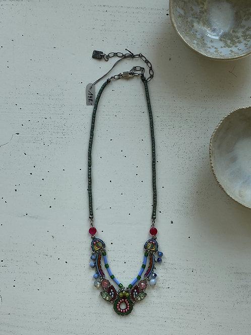 Kette Oriental Colours mit Swarowski Steinen I KONPLOTT