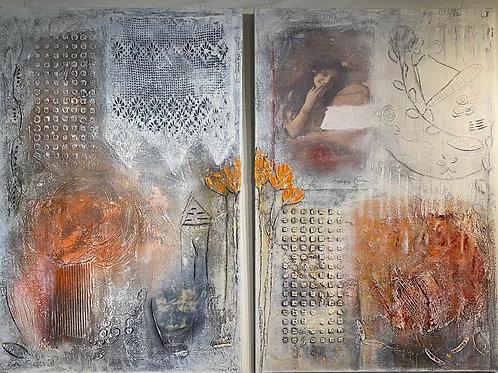 Memory von Angelique Eckstein I 120x80 cm Hochformat