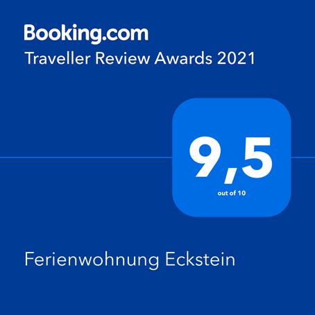 2021 📚Danke für die wunderbare  Auszeichnung durch unsere Gäste...  🌷🥰🌷