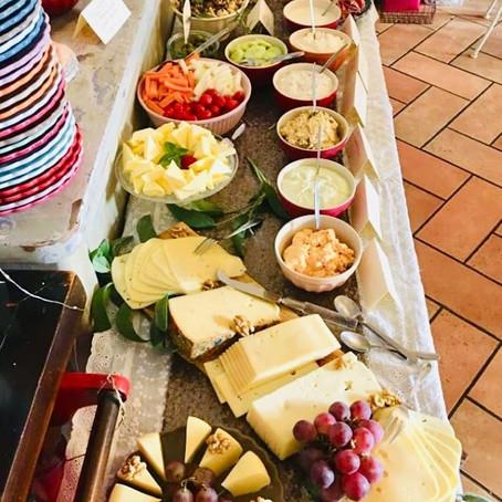 Frühstücksbuffet im ArtCafé