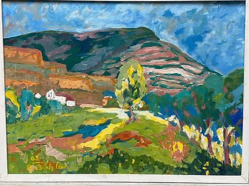 Landschaftsimpression III von Franz Böhler I 60x80cm