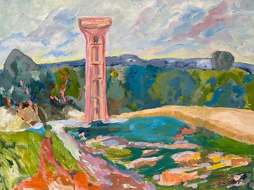 Landschaftsimpression VII von Franz Böhler I 60x80c