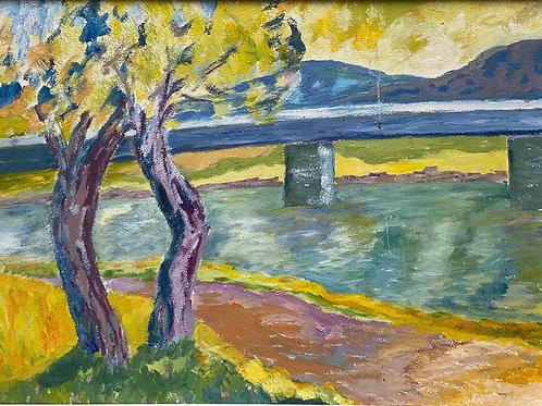 Landschaftsimpression II von Franz Böhler I 60x80cm