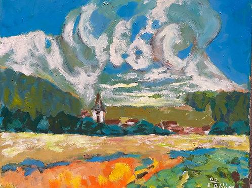 Landschaftsimpression IV von Franz Böhler I 50x60cm
