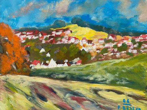 Landschaftsimpression II von Franz Böhler I 50x60cm