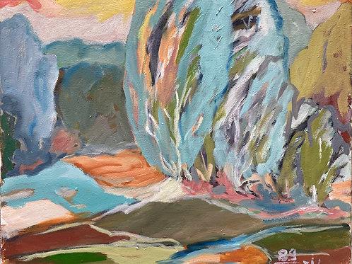 Landschaftsimpression I von Franz Böhler I 50x60cm