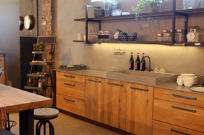 עיצוב וסטיילינג חנות האסם קריית ענבים