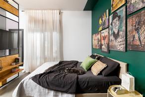 חדר שינה הורים משפחת פרימור