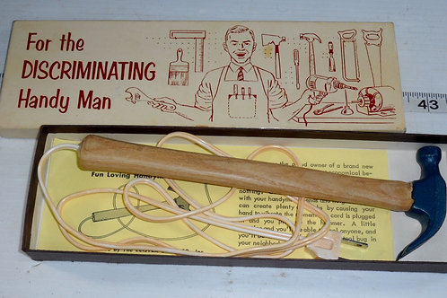 1960s The Discriminating Handy Man Electric Hammer