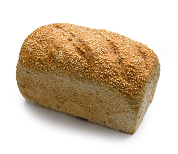 loaf of bread that contains gluten